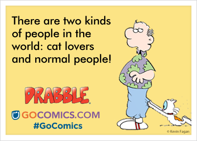 Drabble-Cat