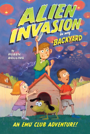 Alien Invasion in My Backyard by Ruben Bolling