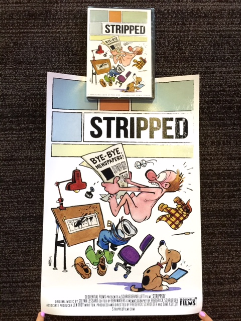Stripped Poster and DVD