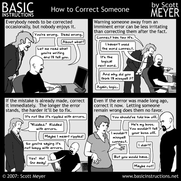 Basic Instructions by Scott Meyer