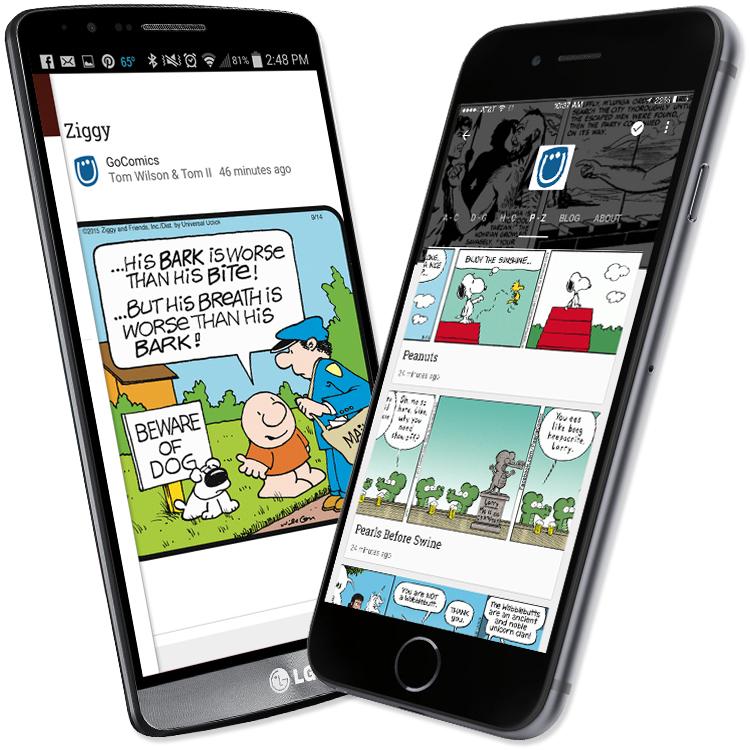 Read Comics on Google Play Newsstand! - GoComics