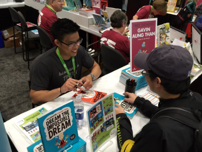 Gavin Aung Than Signing at NYCC