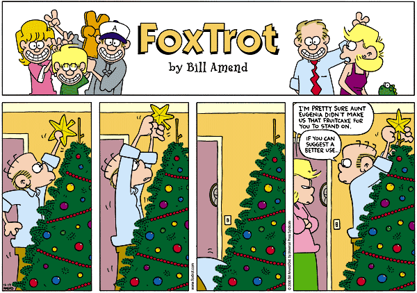 FoxTrot by Bill Amend