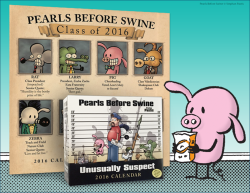 Pearls Before Swine Calendar Giveaway