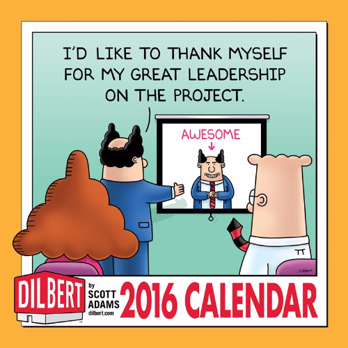 Dilbert 2016 Wall Calendar by Scott Adams