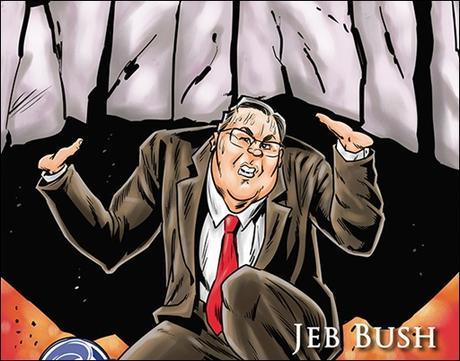 Jeb Bush as Atlas