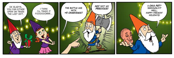 New Comic Alert! The Gnome Syndicate by David Reddick and Kevin Vassey