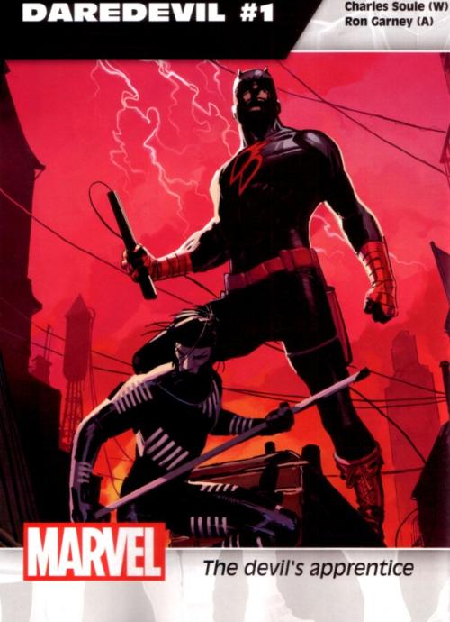 Daredevil- The Devil's Apprentice, cover