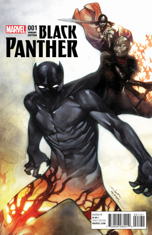 Black Panther 1 cover