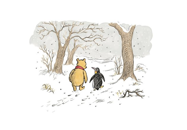 Pooh and Penguin