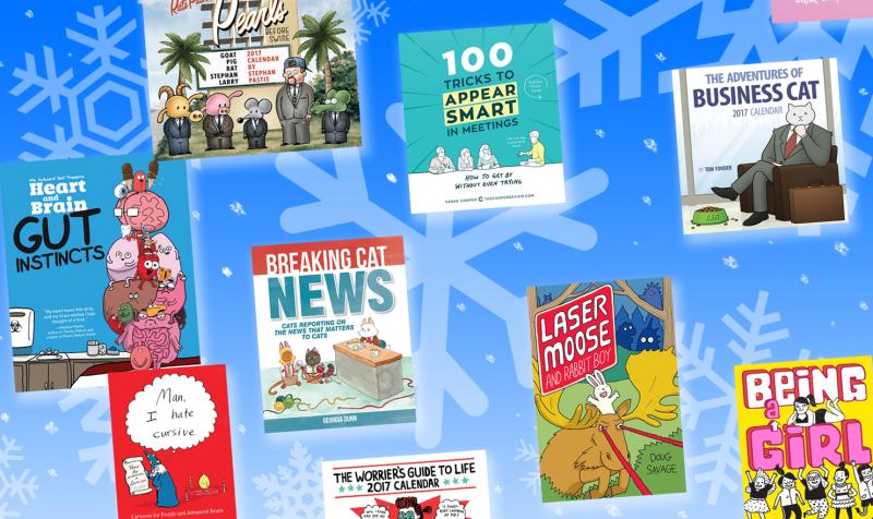GoComics Holiday Gift Guide 2016