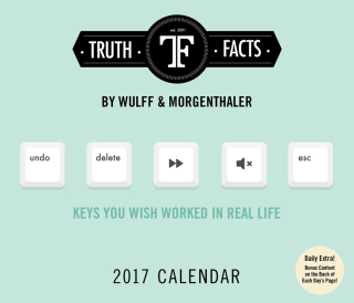 Truth facts calendar