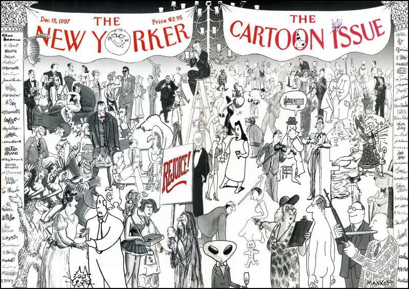 NYer Cartoon Issue cover 12-15-97
