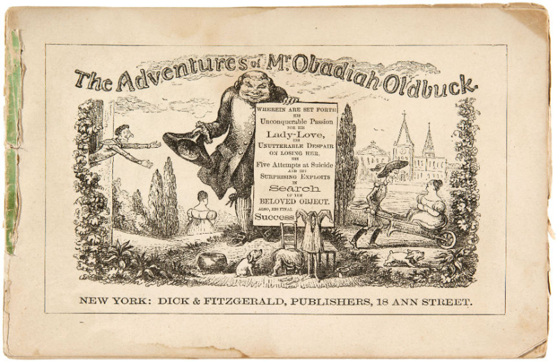 Adventures of Mr. Obadiah Oldbuck cover