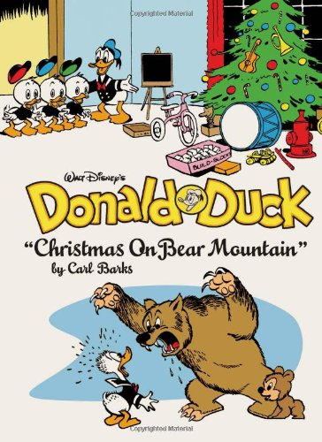 Donald duck christmas bear mountain