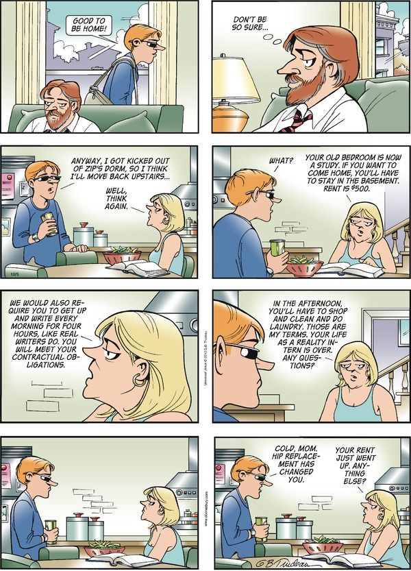 Doonesbury by Garry Trudeau