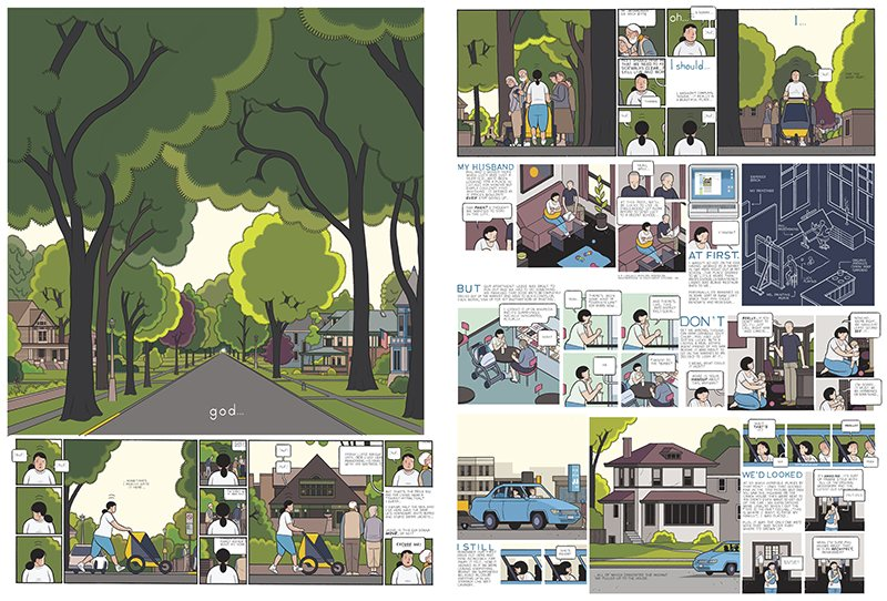 Chris Ware spread