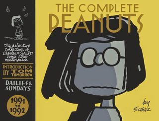 The Complete Peanuts 1991-1992 cover