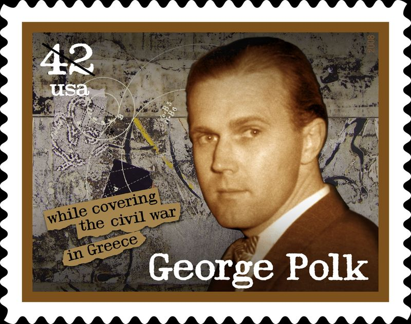 George Polk stamp