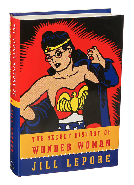 Secret History of Wonder Woman cover