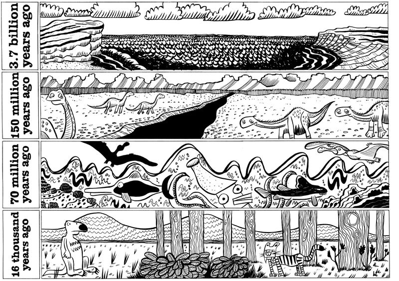 Prehistory-falling-rock