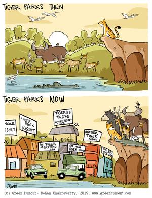 Green Humour by Rohan Chakravarty