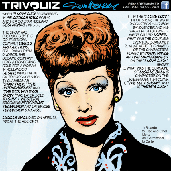 Trivquiz by Steve McGarry