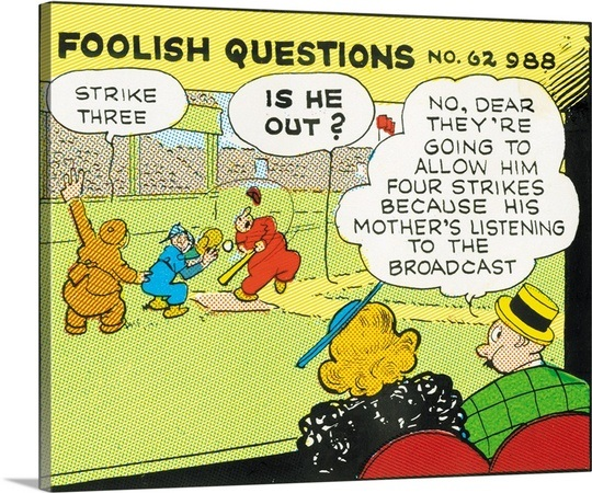 Rube Goldberg's Foolish Questions