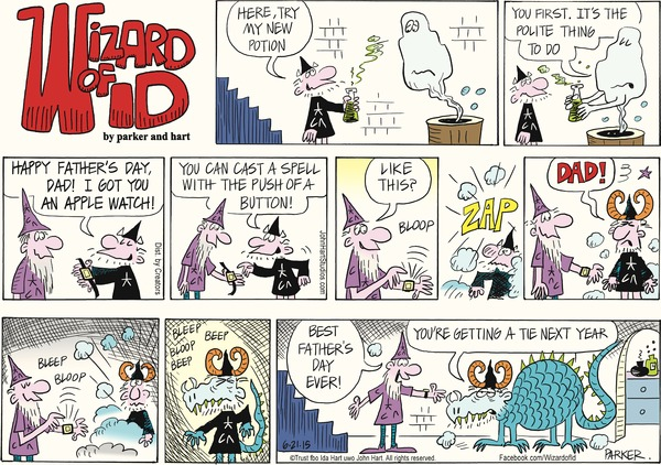 Wizard of Id by Parker and Hart