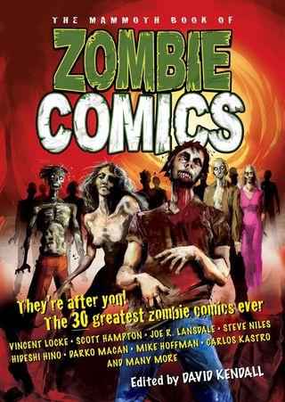 Zombie comics cover