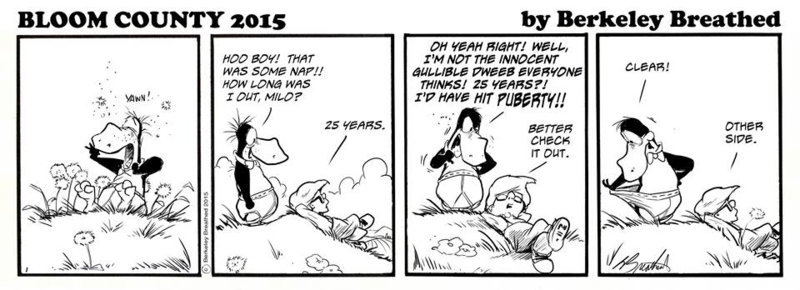Bloom County 2015 by Berkeley Breathed
