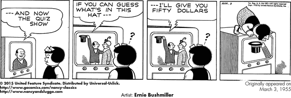 Nancy Classics by Ernie Bushmiller