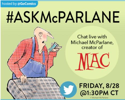 Michael McParlane Live Twitter Q&A