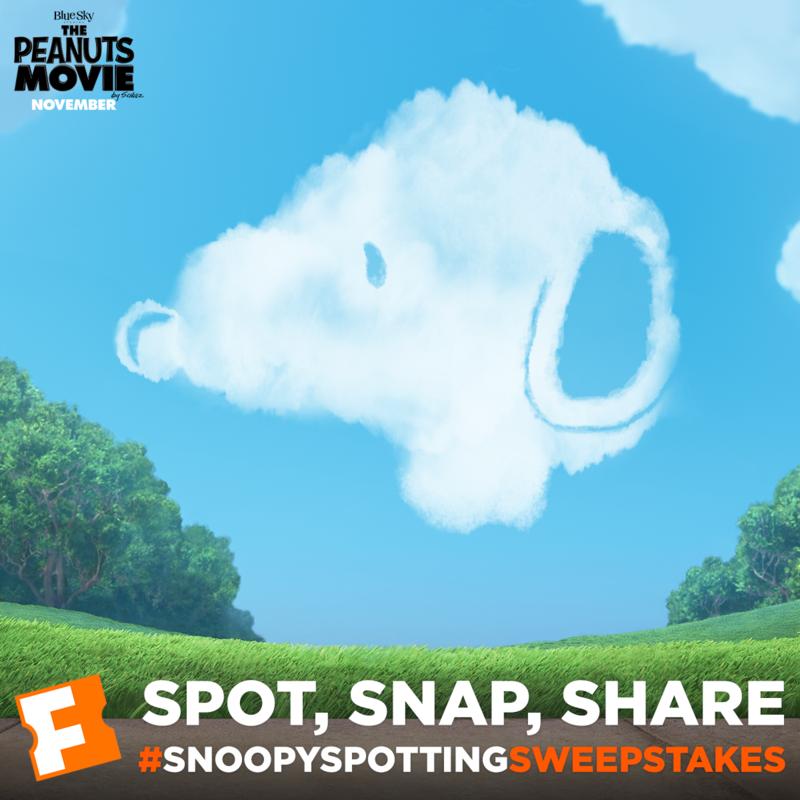 #SnoopySpottingSweepstakes