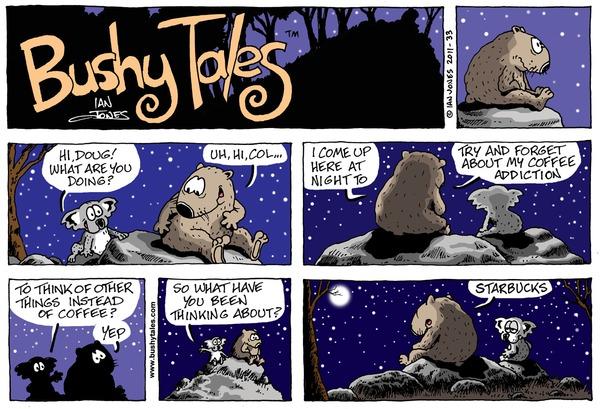 Bushy Tales by Ian Jones