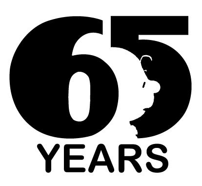 Peanuts 65 Years Logo