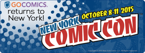 GoComics Exhibits at New York Comic Con