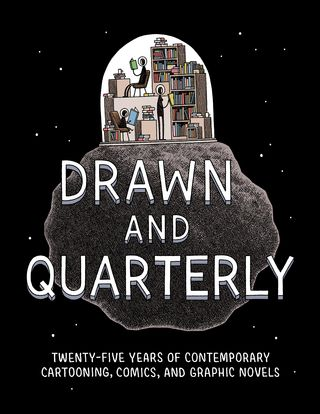 Drawn and Quarterly 25th cover