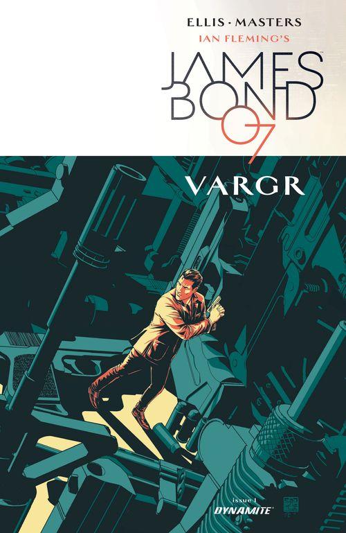 James Bond VARGR cover