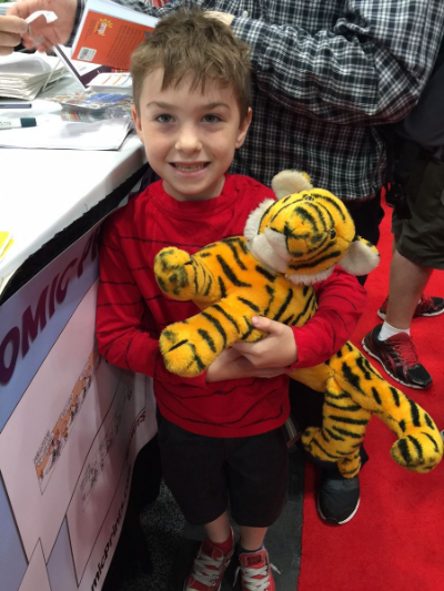 Calvin and Hobbes Cosplay at NYCC
