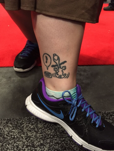Snoopy Tattoo at NYCC