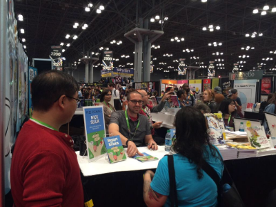 Nick Seluk Signing at NYCC