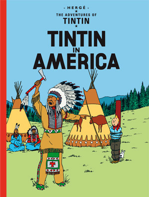 Tintin in America cover