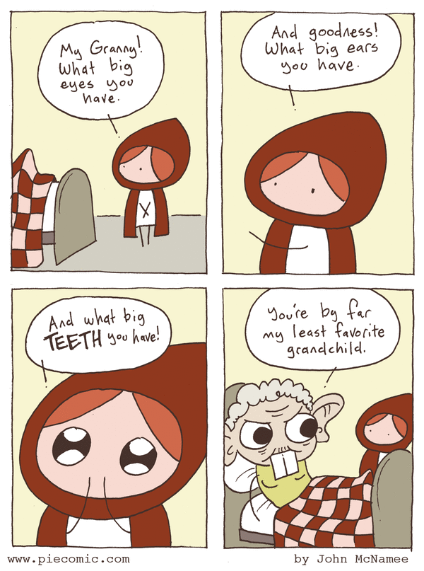 Pie Comic by John McNamee