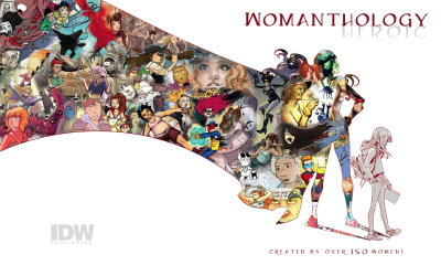 Womanthology cover