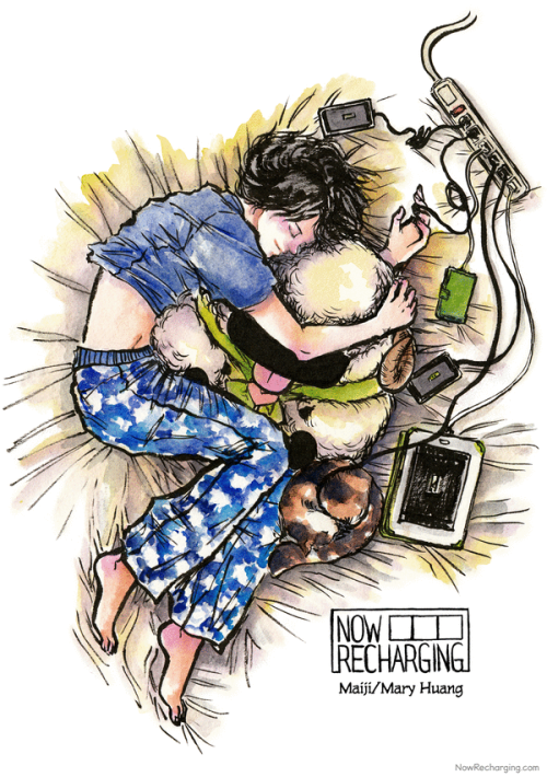 Now Recharging by Maiji/Mary Huang