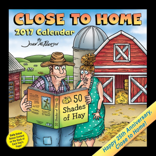 Close to home calendar cover