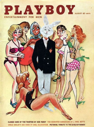 Playboy Cover 8-61
