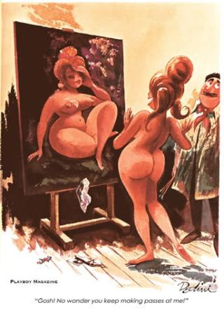 Playboy Dedini full-page