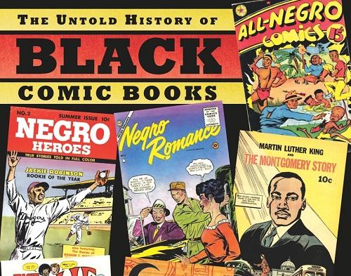 Untold History of Black Comic Books cover